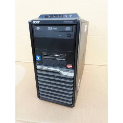 Acer Veriton M430G, AMD 2 X 3,20 GHz CPU, 8GB DDR3, 320GB HDD, 1GB VGA DVD RW, WIN7 / WIN 10