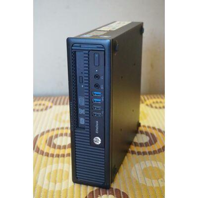 HP EliteDesk 800 G1 USDT, MINI, 4.Gen. I5-4670S CPU, 8GB DDR3, 250GB HDD, DVD, USB 3.0, WIN7 / WIN 10