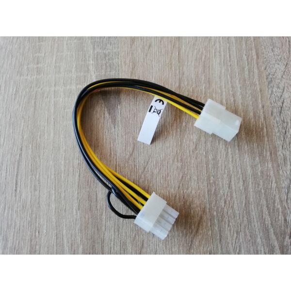 6pin - 8pin PCI-Express tápátalakító