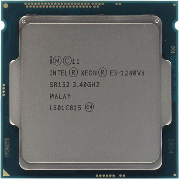 Intel Xeon CPU E3-1240 v3 3.40GHz ( mint i7-4770 )
