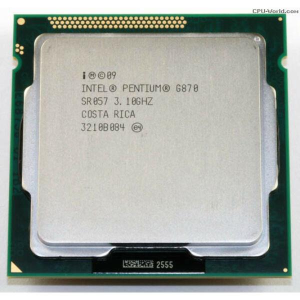 Intel Pentium Processor G870 (3M Cache, 3.10 GHz) LGA1155