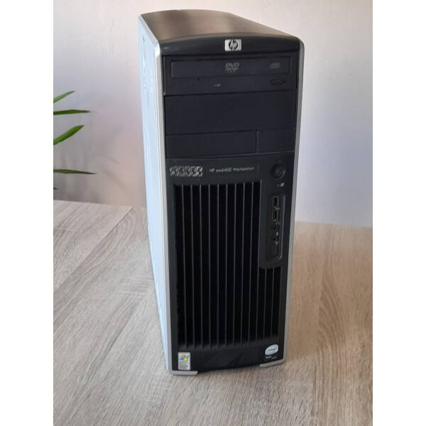 HP XW6400 Workstation, Xeon E5410,6GB,160GB HDD, VGA