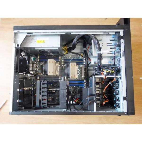 LENOVO ThinkStation D30, 2x Hexa-Core E5-2630 v2 , 32GB DDR3, 3TB HDD,4GB VGA