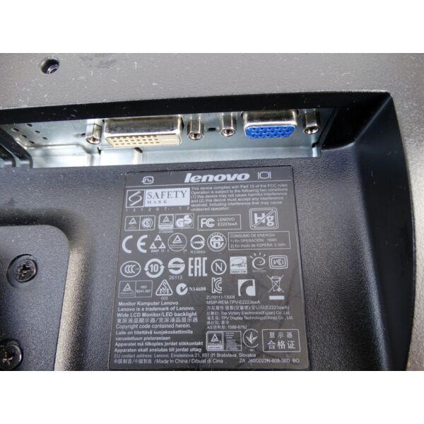 """Lenovo E2223swA 22"""" LED monitor"""