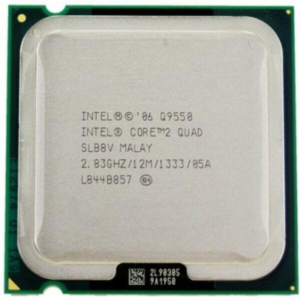 Intel Core 2 Quad Processor Q9550 (12M Cache, 2.83 GHz, 1333 MHz FSB)