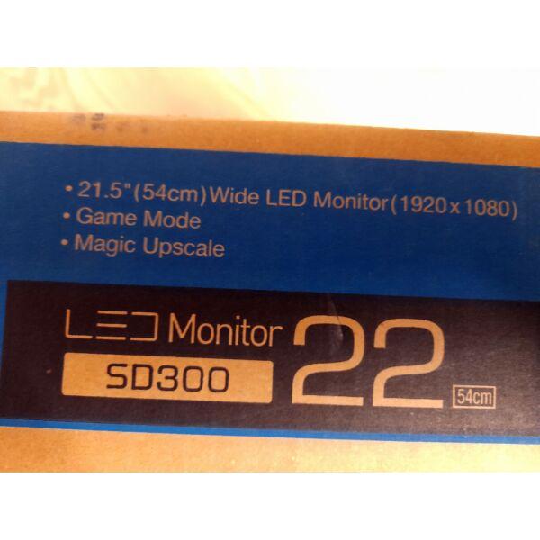 """Samsung S22D300NY 21,5"""" LED Monitor új"""