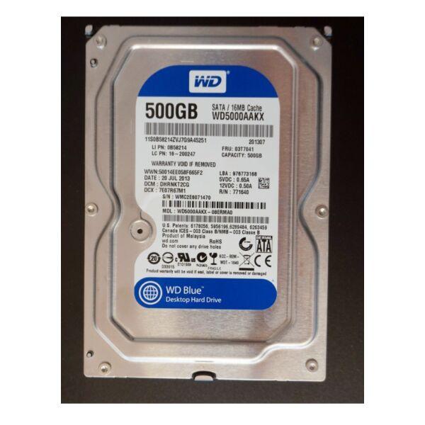 Western Digital Caviar Blue 500GB 16MB 7200rpm SATA3 (WD5000AAKX)