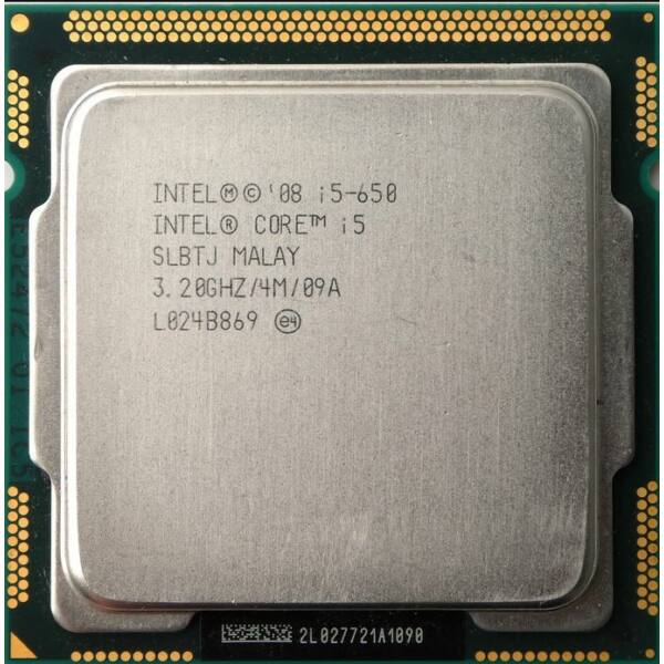 Intel Core i5-650 Processor (4M Cache, 3.20 GHz) LGA1156