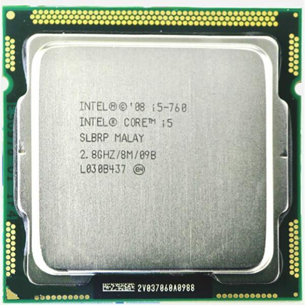 Intel Core i5-760 2.8GHz LGA1156 Processzor