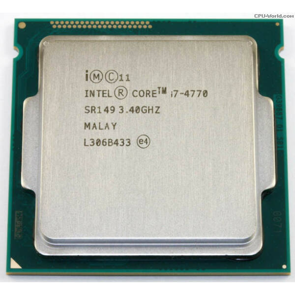 Intel Core i7-4770 Processor (8M Cache, up to 3.90 GHz)