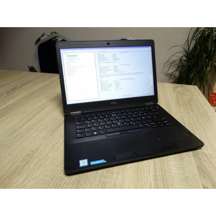 """DELL LATITUDE E7470, 14,1"""" FULL HD, I5-6300U, 8GB DDR4, 256GB SSD,JÓ AKKU, WIN 10"""