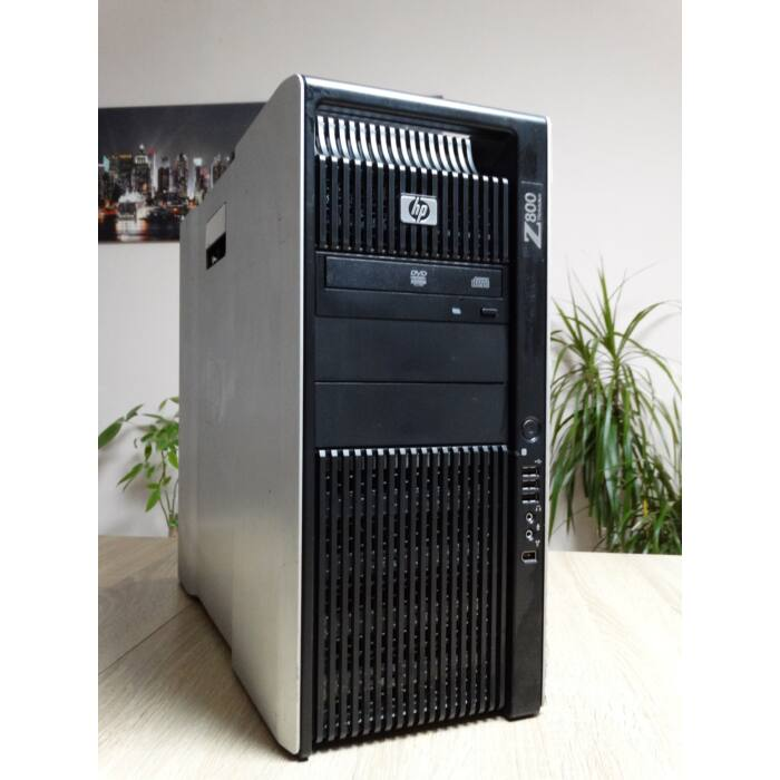 HP Z800 (Workstation) 2x Intel Xeon CPU E5606 2.13GHz,24GB DDR3,500GB HDD,Nvidia Quadro 4000