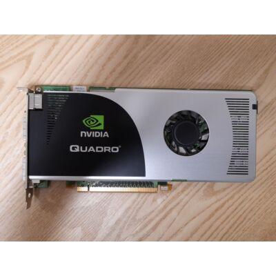 Nvidia Quadro FX3700 512MB 256bit GDDR3 Videokártya