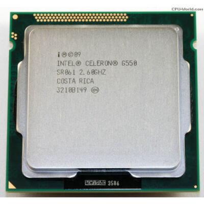 Intel Celeron G550 2.6GHz LGA1155 Processzor