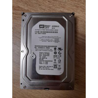 Western Digital 250GB Sata2 hdd