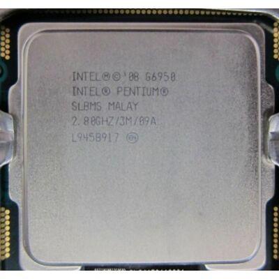 Intel Pentium G6950 LGA 1156 3M Cache, 2.80 GHz 2 mag 2 szál