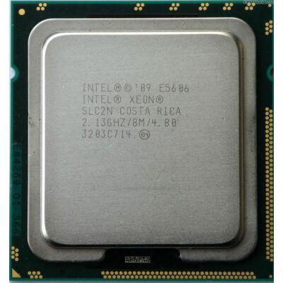 Intel Xeon Processor E5606 8M Cache, 2.13 GHz 4 mag 4 szál