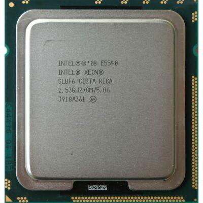 Intel Xeon Processor E5540 (8M Cache, 2.53 GHz 4 mag 8 szál