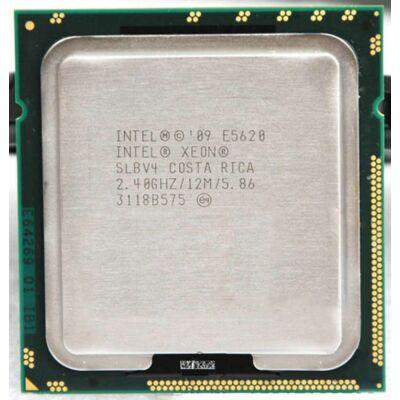 Intel Xeon Processor E5620 12M Cache, 2.40 GHz 4 mag 8 szál