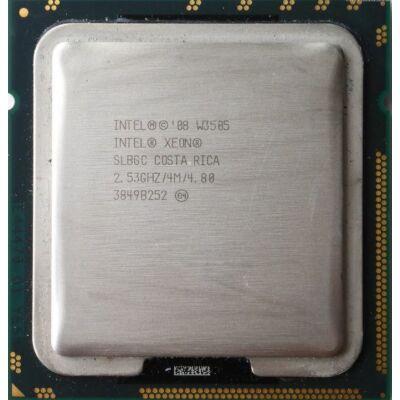 Intel Xeon Processor W3505 4M Cache, 2.53 GHz  2 mag 2 szál