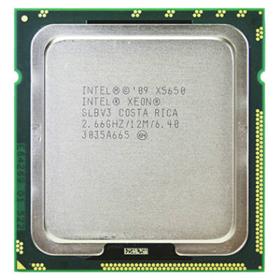 Intel Xeon Processor X5650 6 mag, 12 szál (12M Cache, 2.66 GHz,6,40 GT/s )