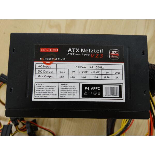 MS-TECH MS-N550-VAL Rev. B 550W tápegység