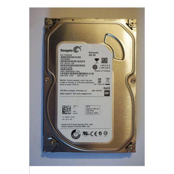 Értékcsökkentett 500GB Sata3 hdd 100/100%