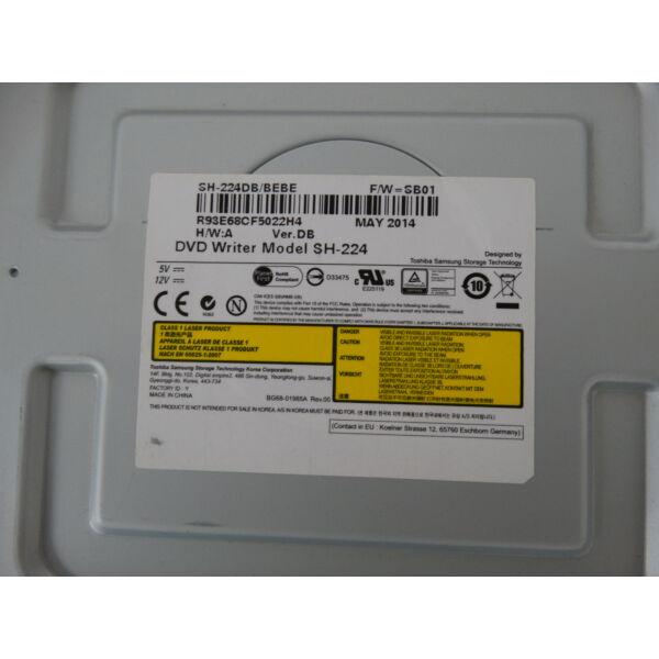 Samsung SH-224DB/BEBE DVD író, 24x, SATA