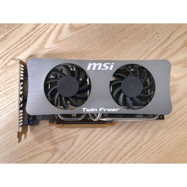 MSI TWIN FROZR  GTS 250 1GB,DDR3,256bit videokártya